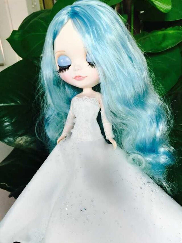 Neo Blythe Doll White Wedding Dress 8