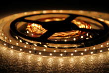 5500K~6000K 3528 12V 60leds/m White led strip light 5meters a roll