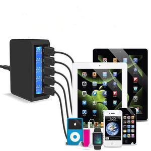 Image 5 - רב יציאת מטען 5 USB 5V8A מהיר תשלום 3.0 LCD להראות טעינה עבור iPhone iPad סמסונג Huawei Xiaomi נקסוס LG אספקת חשמל