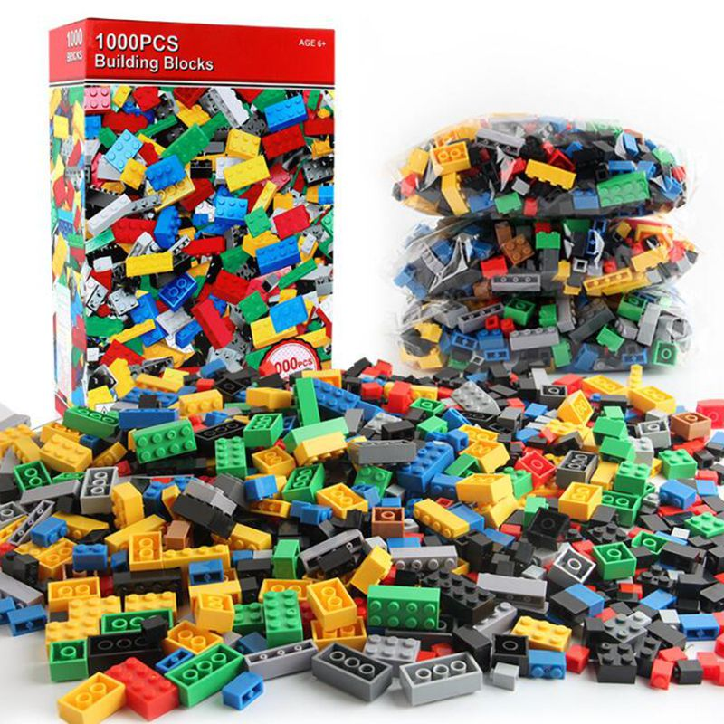 1000pcs/set Kids' Toys Building Blocks Children Construction Toys Small particle assembly puzzle Clicking Blocks three s company ru bun lock children puzzle toy building blocks