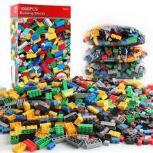 1000pcs/set Kids' Toys Building Blocks Children Construction Toys Small particle assembly puzzle Clicking Blocks(China)