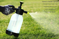 1.5L 2L Hand Pressure Sprayer With Long Nozzle For Plant Flower Home Garden Water Bottle Watering Tool Agricultural Pesti Supply