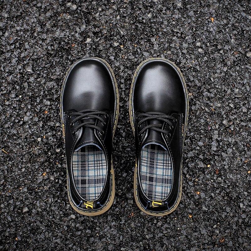Korean Harajuku Style College Low help British style Japanese Mori Girl Flat Low Heel Round Head Vintage Sweet Lolita Shoes