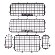 5pcs Metal Window Mesh Protective Net for 1/10 RC Crawler Car Traxxas TRX-4 Practical RC Cars Accessories Toy(China)