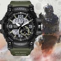 Top Brand Smael Military G Style Shock Men Watch Digital New Electronic Sport Watch Waterproof Male Clock LED Relogio Masculino