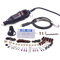 220V 130W Mini Drill Electric Power Tools Dremel Style Drill Machine Rotary Tools With 100pcs Dremel