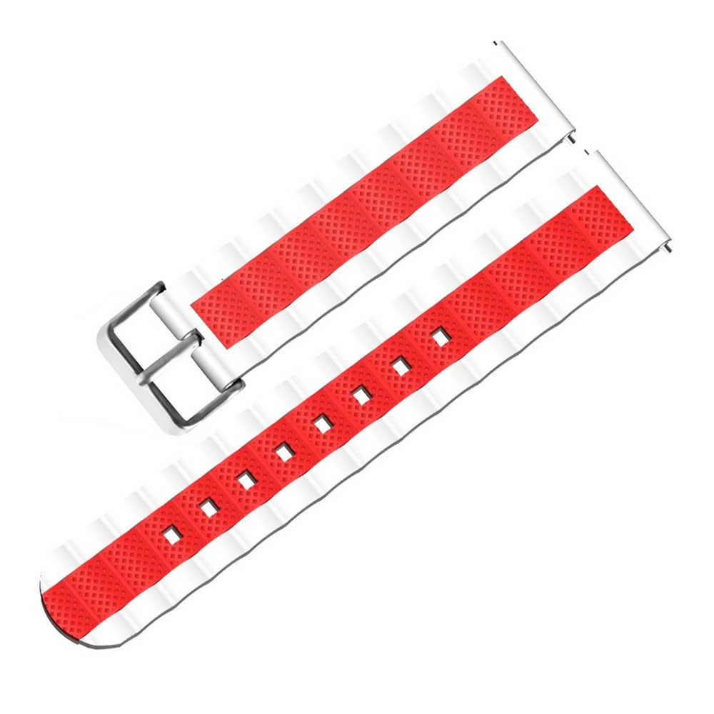Bakeey 20mm Three Colour Waves Shape Watch Band Strap Replacement for Xiaomi AMAZFIT Bip Pace Youth Smart Accessories