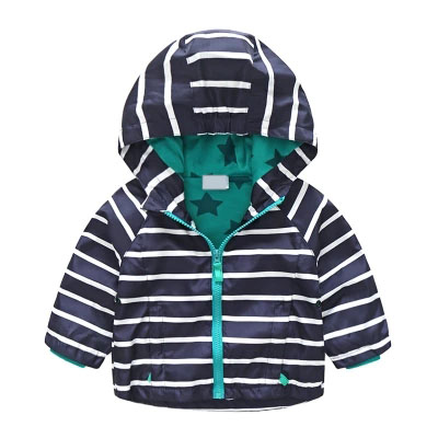 Baby Hooded Jacket Spring Boys Kids Children Jackets Long Sleeve Tops