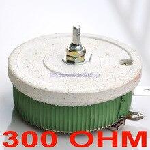 Высокомощный проволочный потенциометр 200 Вт 300 Ом, реостат, переменный резистор, 200 Вт.