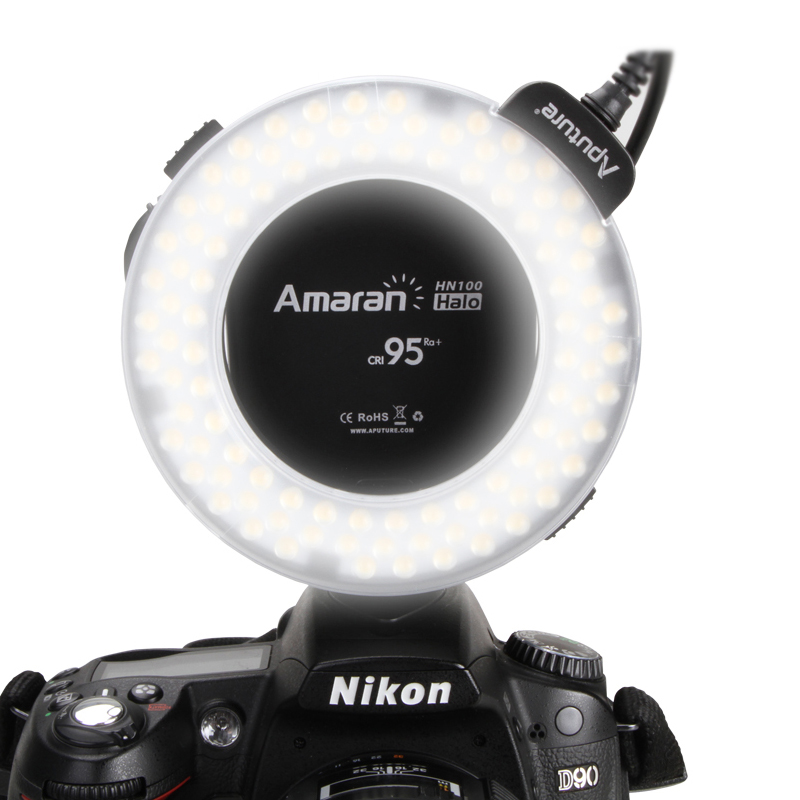 Macro Ring Flash High CRI CRI95 Aputure Amaran HN100 Flash font b Light b font with