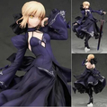 NEW hot 26cm Fate Zero Fate stay night black saber action figure collection toys Christmas gift no box