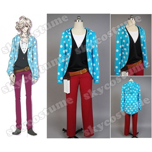 Brothers Conflict Asahina Louis Uniform Anime Cosplay Costume Coat Jacket Vest For Men Cosplay Costume Custom Made Full Set