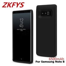 цены на 6500mAh Ultra Thin Fast Charger Battery Case For Samsung Note 8 External Power Bank Case For Samsung Galaxy Note 8 Charging Case  в интернет-магазинах