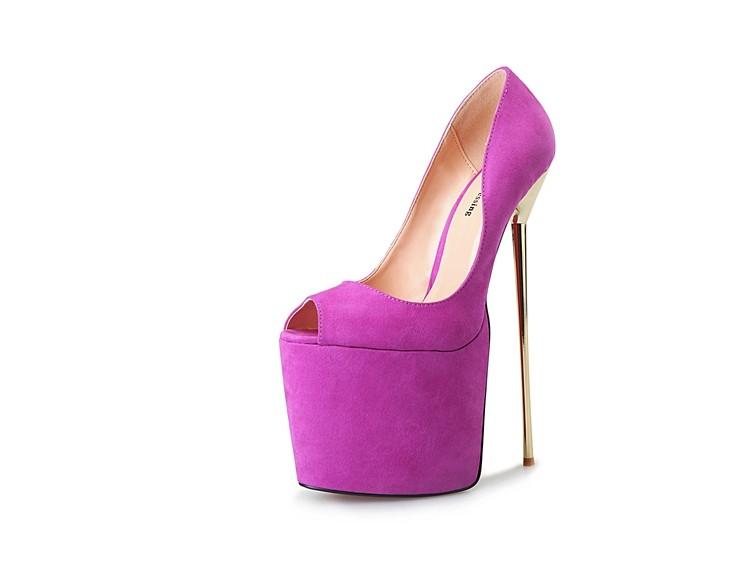 Style thick toe heels 7