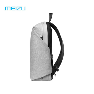 Image 4 - الأصلي Meizu الظهر حقيبة ظهر مدرسية مقاومة للماء موجز نمط سعة كبيرة طالب حقائب الكمبيوتر المحمول لباد ماك بوك حقيبة