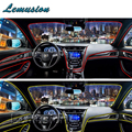 Car Neon Light Glow LED Strip Styling For Peugeot 307 206 308 407 207 2008 3008 508 406 208 For Citroen C4 C5 C3 C2 Accessories