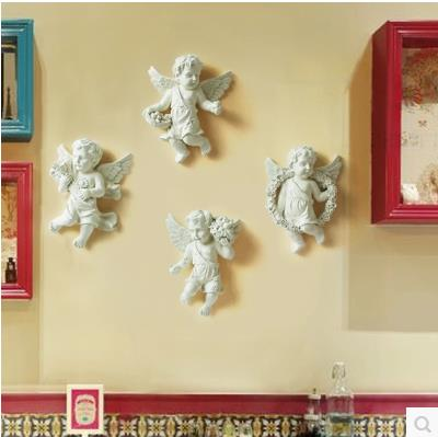 European-style resin wall Angel, wall decoration crafts, creative - Home Decor - Photo 3