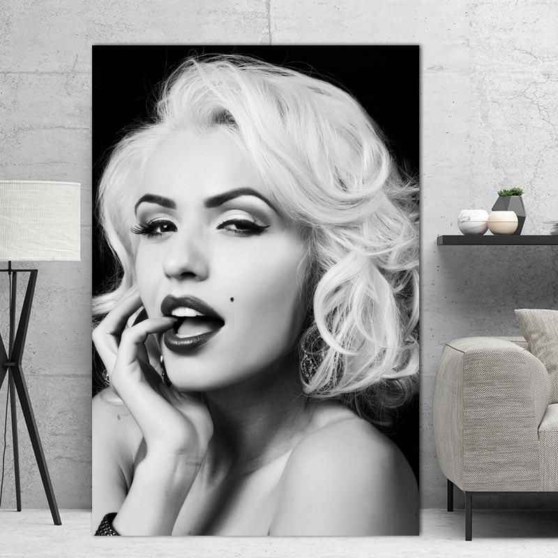 Marilyn Monroe Classic Movie Star Art Silk Poster 13x20 inch