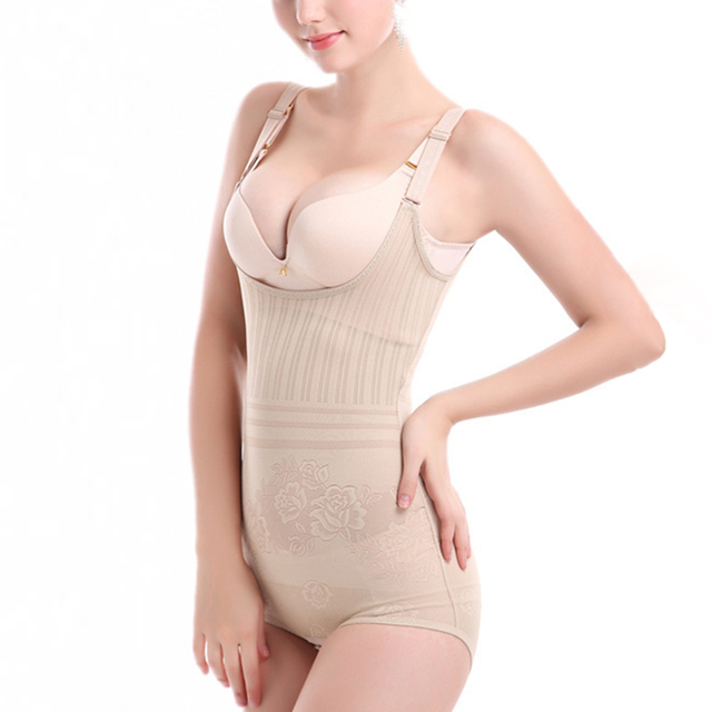 Hot Women Slimming Shapewear Adjustable Straps Body Shaper Waist Shapers Firm Postpartum Recover Corset Girdle