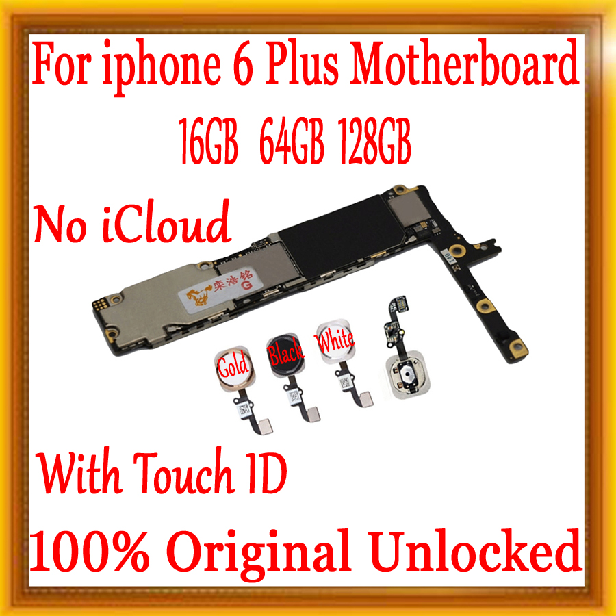 16gb / 64gb / 128gb Original unlocked for iphone 6 plus Motherboard With Touch ID/without Touch ID,for iphone 6Plus Mainboard16gb / 64gb / 128gb Original unlocked for iphone 6 plus Motherboard With Touch ID/without Touch ID,for iphone 6Plus Mainboard