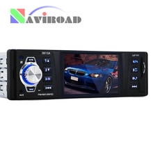 Car Radio MP5 Player Stereo Audio Player 3.6 inch LCD Display Radio Receiver FM Aux Input USB SD Port MP3/WMA/WMV Support Camera