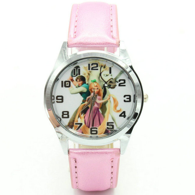 Free Shipping Princess Tangled Rapunzel Watch Child Girl Watch Wholesale