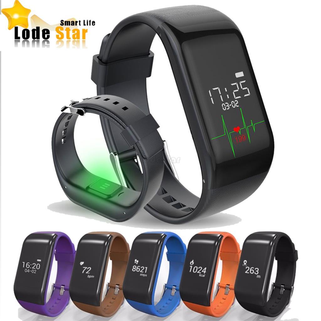 imágenes para Nueva R1 Pulsera Inteligente Monitor de Ritmo Cardíaco Banda Rastreador Deportes Podómetro sleep Monitor Cardíaco Reloj de la Aptitud Pulsera smartband