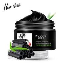 Hername mascarilla negra carbon activado corrector cosmetica coreana mascarilla   para puntos negros poros de carbon pilaten carbon activado