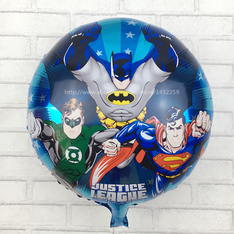 Batman Round Foil Balloons Birthday Party Childrens Toys Wholesale High Quality Self-sealing Balloon M-019 Ballons & Accessories Generous Xxpwj Hot