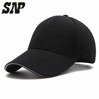 Solid Color Golf Logo Cotton Baseball Cap Sports Golf Snapback Outdoor Simple Solid Hats For Men
