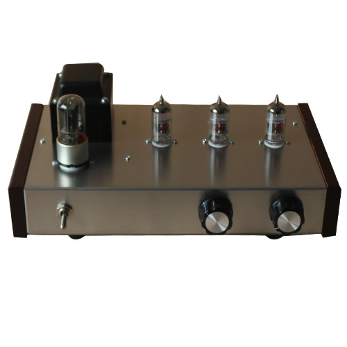 Finished 12ax7b Tube Preamplifier DIY HIFI 12ax7b + 6z5p  Preamp Finished / Kit Optional