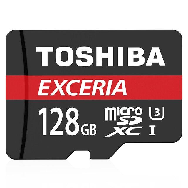 TOSHIBA Real Capacity High Speed CLASS10 U3 90MB/S 128GB Memory Card SDXC TF Card Micro SD Card SDXC Pass H2testw