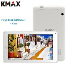 KMAX 7 inch wifi tablet pc android 7.0 Quad Core 16GB RAM GPS bluetooth New mini tablets pc kids 8 9 10 pad cheap case keyboard