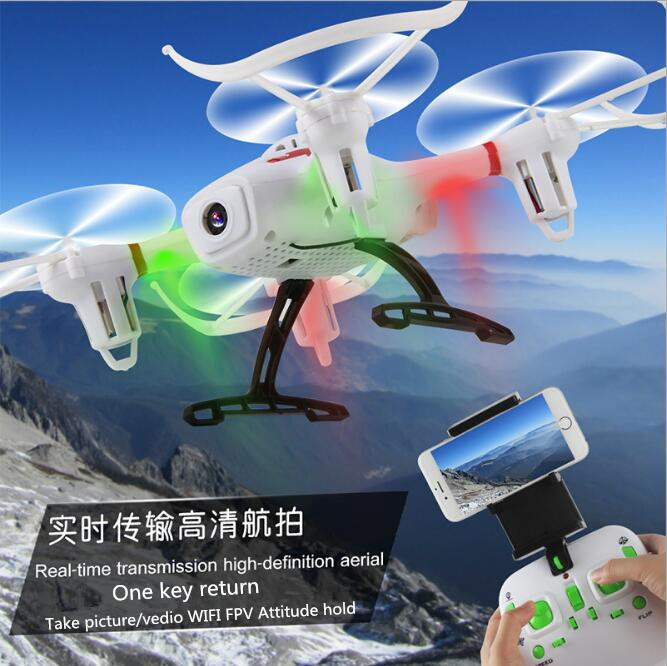 2017 New Model Sky Author 1343 WIFI FPV RC Quadcopter 2.4G air attitude hold hover 3D roll RC Aircraft Drone with 720P Camera up air upair chase 5 8g fpv 12mp rc quadcopter