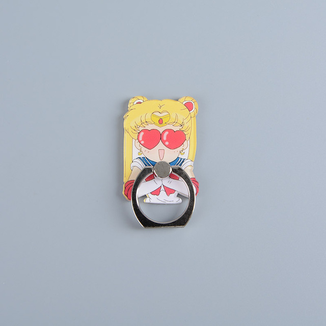 Sailor Moon Smartphone Finger Ring Stand Holders