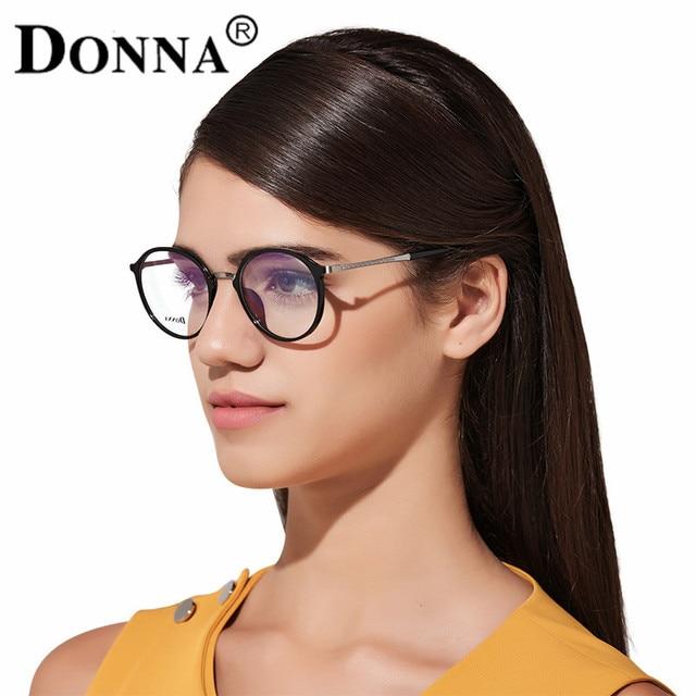 Donna Women Fashion Reading Eyeglasses Optical Over Size Round Glasses Big Frames Glasses Women New Frame round frame reading