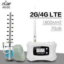 ATNJ 4G LTE Moblie Phone Signal Repeater 70dB Gain 4G DCS 1800MHz Cellular Signal Amplifier 2G 4G LTE Booster Band 3 LCD Display portable waterproof monopod tripod telescoping extendable pole handheld camera tripod