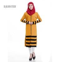 DJGRSTER hot Caftan Turkish Abaya Muslims abaya dress for women Arab Robes Muslim kaftan Islamic clothing ladies islamic lace