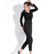 Body Shapers Long Pants Sleeve Womens Slimming Fitness Panties Fat Burning T-Shirt Suit Super Stretch Sweat Sauna Shaperwear