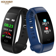 Smart Bracelet Color Screen Blood Pressure Fitness Tracker Heart Rate Monitor Band Sport for Android IOS pk 115 plus M 3