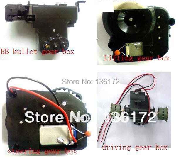 ФОТО Henglong 1/24 RC tank  3808 3809 3816  R/C tank parts  gear box  4pcs  free shipping