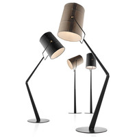 Italian Fabric Floor Lamp Metal long Arm Floor Light Black Fabric Hotel Bar Parlor Furniture Exhibition Home Floor Lighting G925