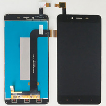 New Black LCD Screen Display Touch Screen Digitizer For Xiaomi Hongmi Redmi Note 2 Replacement