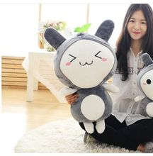 middle size plush Transfiguration Totoro toy stuffed Triangle eyes totoro doll gift about 65cm
