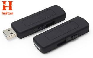 2017 New 4GB USB disk recording pen digital voice recorder USB retractable voice recorder 70hours recording