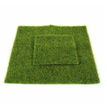 2 Sizes Creative Micro Landscape Fake Artificial Grass Landscape Home Ornament A