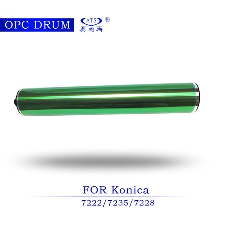 все цены на 1pcs Photocopy Machine opc drum for Konica K7222 K7235 K7228 copier spare parts K 7222 7235 7228 онлайн