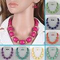 Collar de cuentas de joyería de nueva moda clásico collar llamativo collar de perlas africano mujeres colares femininos1260