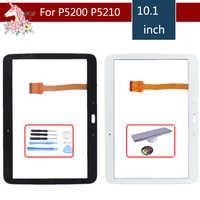 Original 10.1 For Samsung Galaxy Tab 3 GT-P5200 GT-P5210 P5200 P5210 Touch Screen Digitizer Panel Sensor Replacement
