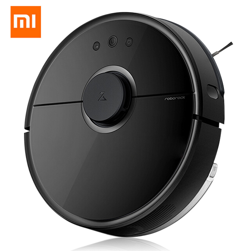 New Sale Original Xiaomi MI Roborock S55 Robot Vacuum Cleaner 2 Sterilize APP Control Smart Planned Sweeping Wet Mopping Machine original xiaomi mi roborock vacuum cleaner 2 mopping floor wifi home cleaning sweeping laser guidance powerful suction lds